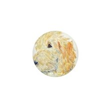 Cream Labradoodle 1 Mini Button (100 pack)