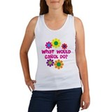 What would Carol Do? Women's Tank Top
