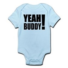 Yeah Buddy! (Black) Infant Bodysuit