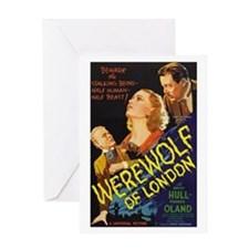 Werewolf of London Greeting Card