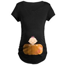 Halloween Pumpkin Baby Pregnancy T-Shirt