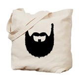 Full beard Tote Bag