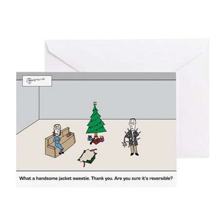 christmas192_H_F Greeting Cards