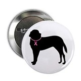"Saint Bernard Breast Cancer Support 2.25"" Button ("