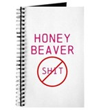 Honey Beaver Don't give a shi Journal