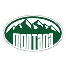 Montana Mountains Decal