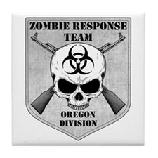 Zombie Response Team: Oregon Division Tile Coaster