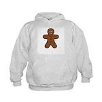 Gingerbread Man Kids Hoodie