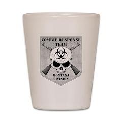 Zombie Response Team: Montana Division Shot Glass