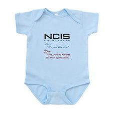 NCIS Ziva Garage Sale Quote Infant Bodysuit