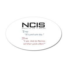 NCIS Ziva Garage Sale Quote 38.5 x 24.5 Oval Wall