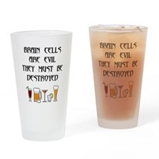 Cute Cell Drinking Glass