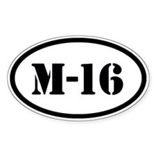 M16 Decal