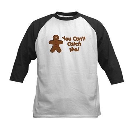You Can't Catch Me Kids Baseball Jersey