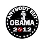 "Anybody but Obama 3.5"" Button (100 pack)"