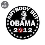 "Anybody but Obama 3.5"" Button (10 pack)"