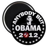 "Anybody but Obama 2.25"" Magnet (10 pack)"