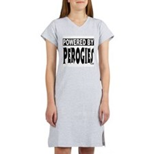 Powered by Perogies Women's Nightshirt