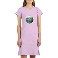 Ukr. Floral Ornament Women's Nightshirt