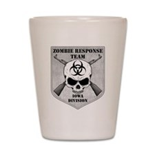 Zombie Response Team: Iowa Division Shot Glass
