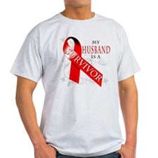 My Husband is a Survivor T-Shirt