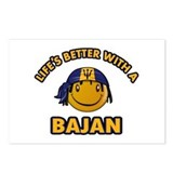 Life's better with a Bajan Postcards (Package of 8