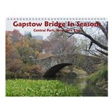 Gapstow Bridge In Seasons Wall Calendar
