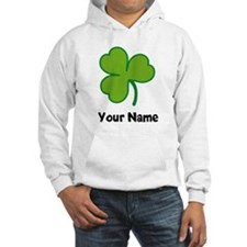 Personalized Irish Shamrock Hoodie