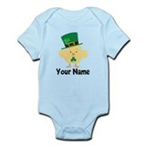 Personalized Irish Chick Infant Bodysuit