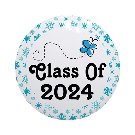 Class of 2024 Christmas Ornament