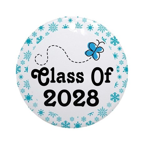 Class of 2028 Christmas Ornament