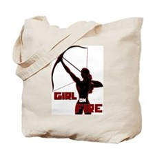 Katniss Girl on Fire Tote Bag