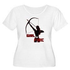 Katniss Girl on Fire T-Shirt