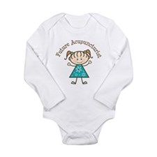 Future Acupuncturist Girl Long Sleeve Infant Bodys
