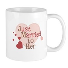 Groom Just Married Mug