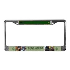 Cute Recon License Plate Frame