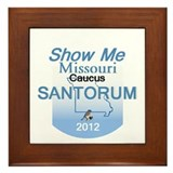Santorum MISSOURI Framed Tile