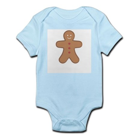 Gingerbread Man Infant Creeper