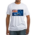 Australian UFO's Fitted T-Shirt