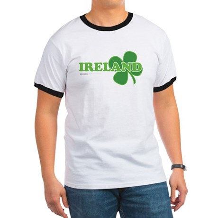 Ireland Lucky Clover Ringer T