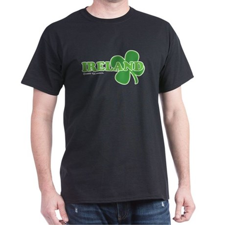 Ireland Lucky Clover Dark T-Shirt
