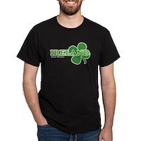Ireland Lucky Clover Dark T-Shirt