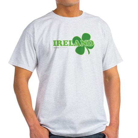 Ireland Lucky Clover Light T-Shirt