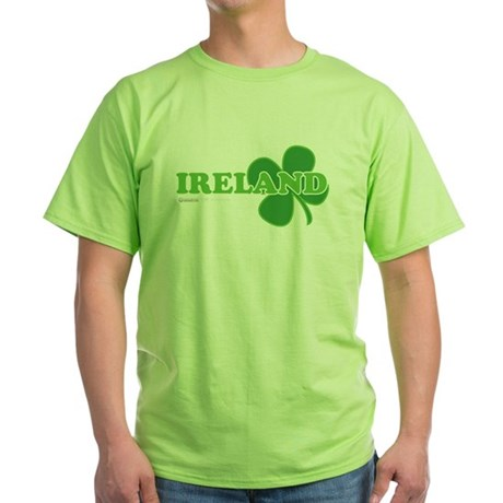 Ireland Lucky Clover Green T-Shirt