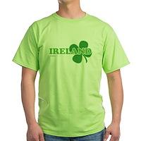 Ireland Lucky Clover Green T-Shirt