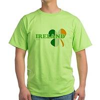 Ireland Clover Flag Green T-Shirt