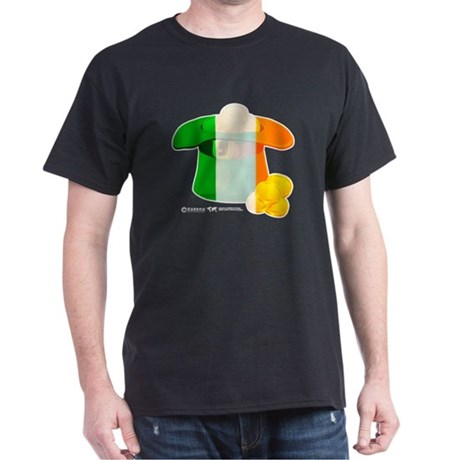 Irish Hat Flag Colors Dark T-Shirt