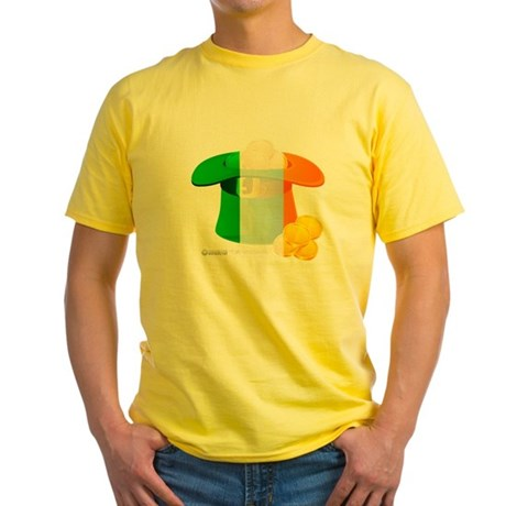 Irish Hat Flag Colors Yellow T-Shirt