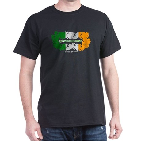St Patrick's Day Reef Flag Dark T-Shirt