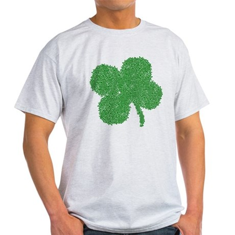Emo Skull Clover Light T-Shirt